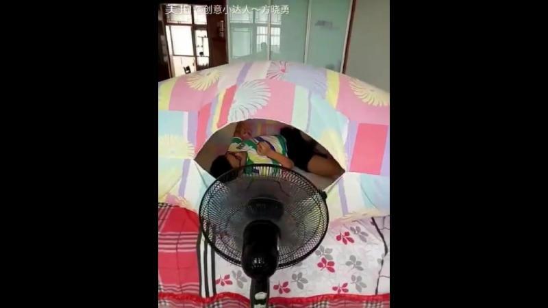 Iata solutia perfecta pentru a te racori pe timp de vara. Iti trebuie doar un ventilator si totul va fii perfect.