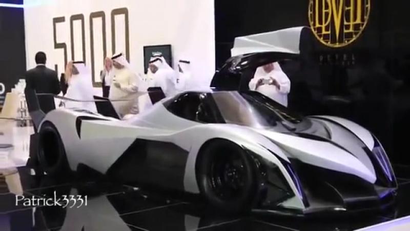 Maşina pe care toţi ARABI se bat pentru a o cumpăra: Are 5000 de cai putere şi atinge suta în 1.8 secunde - Este cea mai rapidă maşină de stradă din lume care poate atinge 560km/h
