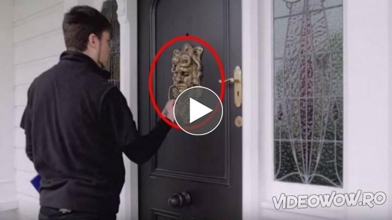 Vrei să scapi de MUSAFIRI nepoftiţi care bat la uşa ta? Atunci această sonerie este potrivită pentru casa ta! Toţi cei care au încercat-o au avut şocul vieţii lor...