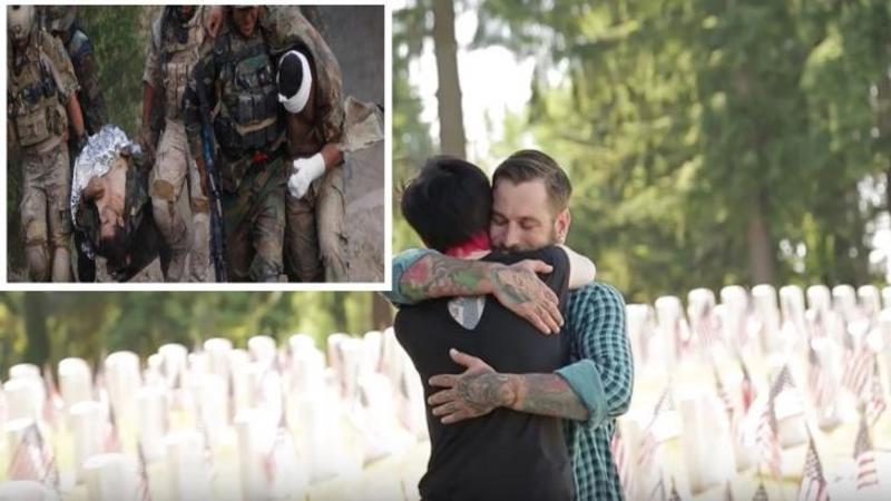 I-a salvat viaţa în război... şi asta a costat-o propriile mâini: Dar când cei doi camarazi de arme se reîntâlnesc după mult timp... mi-a stat inima în loc de emoţie! Nimic nu poate descrie legătura dintre cei doi... Copleşitor