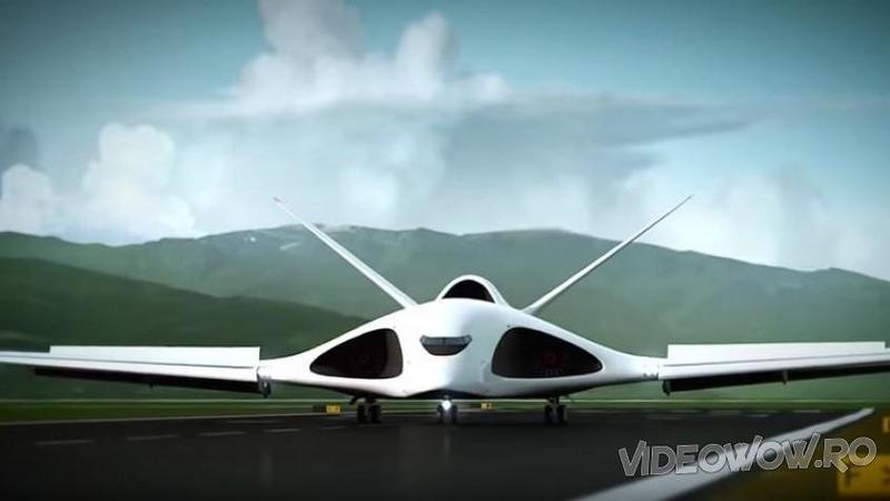Noul AVION de război care îl va înlocuii pe celebrul şi consacratul Antonov în viitorul apropiat! Nu seamănă cu nimic din ce ţi-ai putea imagina vreodată... este cu adevărat un ?monstru? al cerului