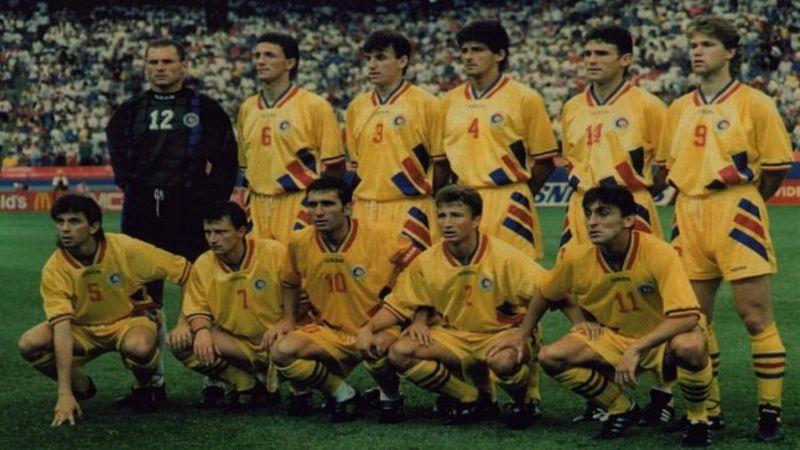 Un omagiu adus fotbalului romanesc. Imagini unice cu generatia de aur