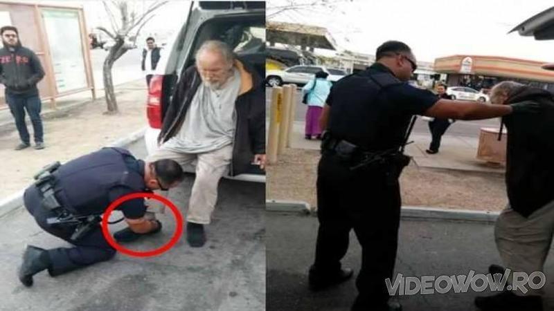 Un POLITIST în timpul serviciului a fost văzut aplecat la piciorul unui CERSETOR: Ce făcea omul legii acolo te va lăsa în lacrimi de emoţie! Gestul lui a impresionat o ţară întreagă si nu numai... Nu am cuvinte pentru acest om!