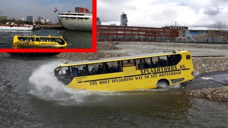 Când am văzut acest AUTOBUZ că plonjează în apă m-am rugat ca pasageri să supravieţuiască... dar niciodată nu m-am gândit că voi asista la un asemenea ACCIDENT cu final neaşteptat...