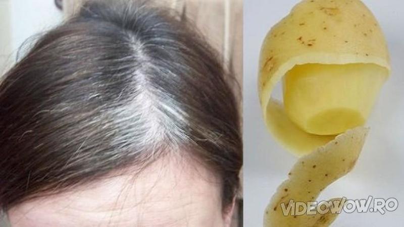 Ai fire de păr ALB în cap? Iată remediul natural şi ieftin care te poate scăpa de asa ceva cu doar o singură aplicare!
