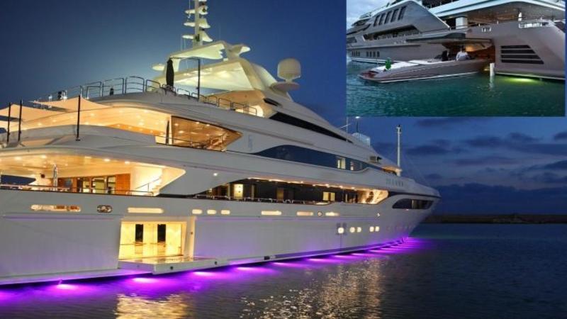 Yachtul de 340 milioane de dolari în care LUXUL nu cunoaşte limite! Are propriul ELICOPTER, o barcă de viteză şi piscină în aer liber! Un adevărat PALAT plutitor