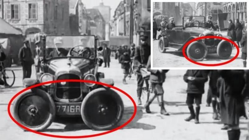 Uite ce invenţie fantastică din 1927 pentru automobilele noastre! Parcarea unei maşini era rezolvată încă de atunci... Tu ce crezi?