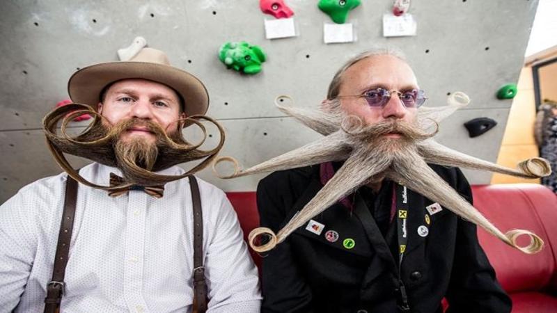 Iţi plac mustăţile şi barba? Atunci ăsta este locul unde vei vedea cele mai frumoase şi trăsnite mustăţi din lume! Sunt mai extravagante ca o coafură de femeie... WOW