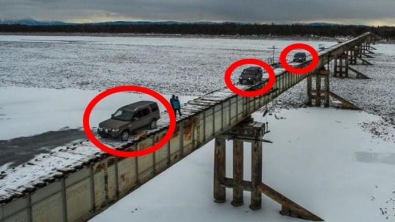 Este cel mai periculos POD din lume şi în fiecare zi este trecut de zeci de maşini, iar o singură greşeală pe acest pod te poate costa viaţa cât ai clipi!