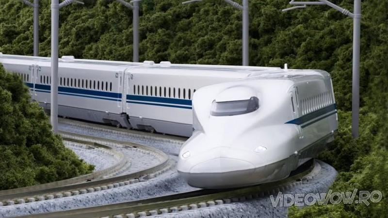 Vrei să vezi ce înseamnă să călătoreşti cu TRENUL în Japonia la viteze ameţitoare de peste 320 km/h? Atunci să te ţii bine, căci aceste maşinării sunt incredibil de RAPIDE