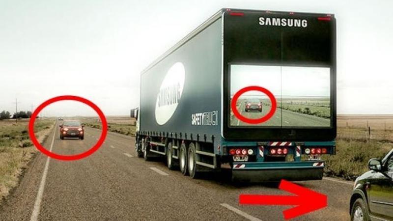 Sistemul revoluţionar care v-a SALVA viaţa a milioane de şoferi anual! Tehnologia care îţi va permite să VEZI pe spatele unui camion ce se află în faţa sa pentru a efectua o depăşire fără RISCURI!