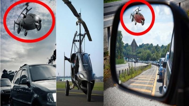 Maşina cu care nu mai stai la SEMAFOR în viaţa ta: Cu doar o simplă apăsare de buton şi îţi iei zborul spre CER!