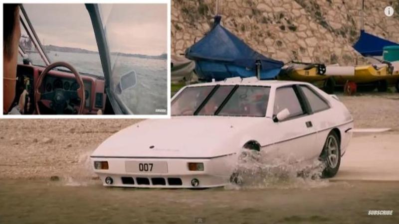 4 ani de muncă şi multă pasiune: Uite în ce a transformat acest om o maşină după atâta timp - Un adevărat SUBMARIN parcă desprins din filmele cu James Bond... Fantastic!