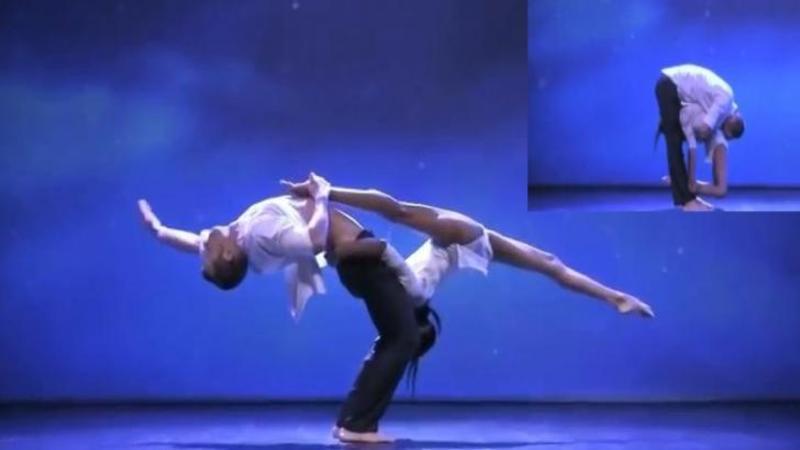 Au intrat pe scenă unul în braţele celuilalt şi corpurile lor s-au CONTOPIT pe ritmurile muzici aşa cum nimeni nu a mai văzut vreodată! Un dans care te v-a lăsa fără suflare...