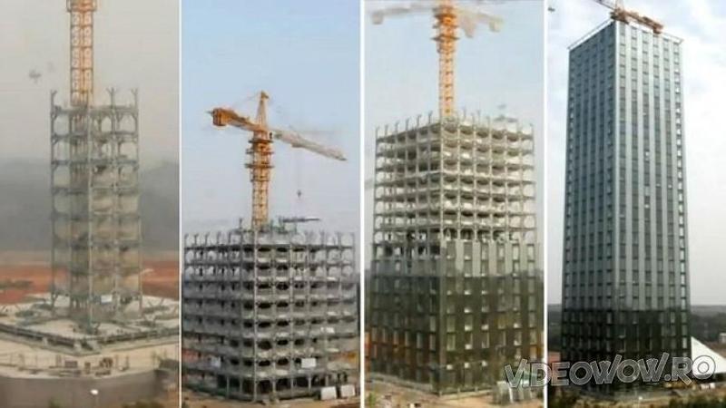 Au construit un BLOC cu 30 de etaje în doar 15 zile: Iată cum a fost posibilă această minunăţie a tehnologiei moderne... WOW, trebuie să vezi ca să crezi una ca asta, pare o minune