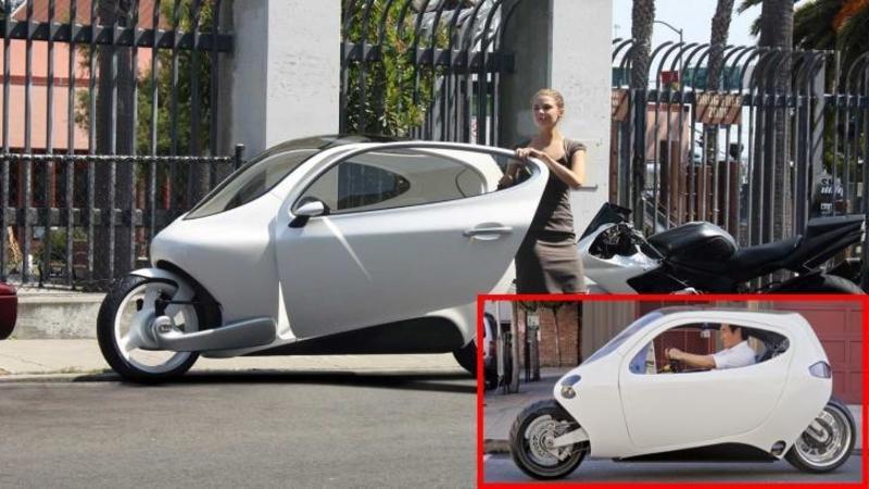 Motocicleta VIITORULUI care nu poţi să o răstorni nici dacă vrei ? Vei scăpa fară nici o zgârietură din orice accident? IMPRESIONANT