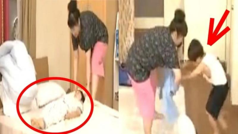 Cum îşi PREGATESTE o mămică din Japonia copilul de şcoală în mai puţin de 5 minute te va lăsa MUT!! Trebuie să fi NEBUNA de GENIALA să faci aşa ceva?