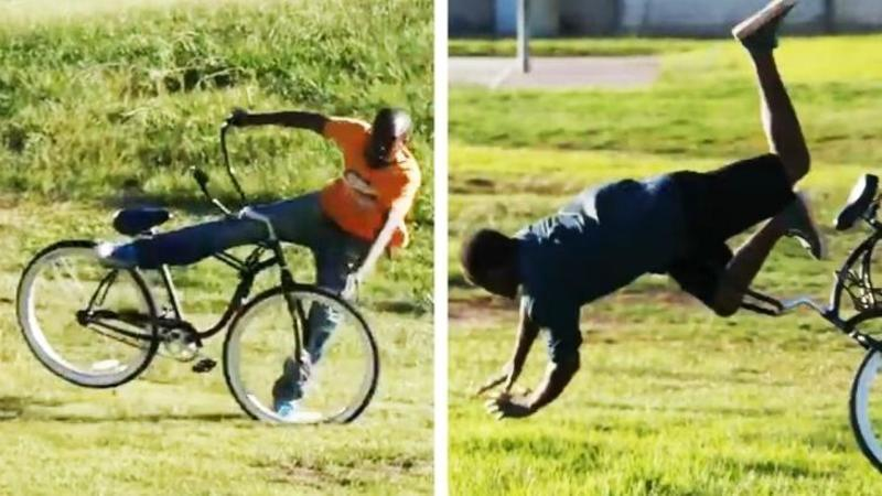 Au lăsat o BICICLETA abandonată într-un parc şi au vrut să vadă dacă oamenii o fură - Ceea ce nu ştiau este că bicicleta a fost LEGATA de copac! Ce s-a întâmplat cu cei care au vrut să o ia este o pedeapsă bine meritată