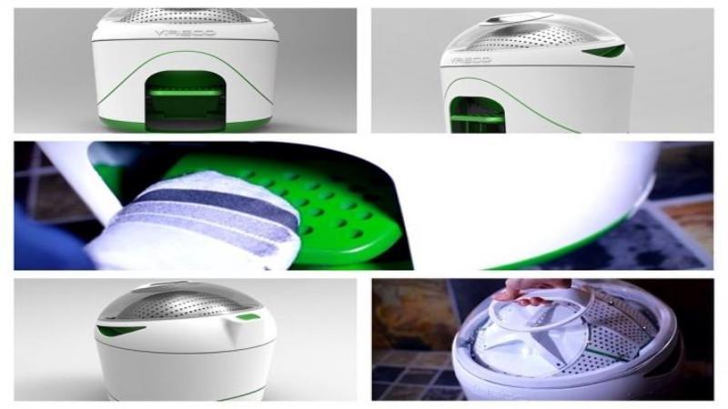 Ultima invenţie în materie de spălat HAINE! Maşina de spălat... ?manuală? acţionată cu piciorul! Ai crede că este o glumă, dar este mult mai eficientă şi economicoasă ca cea automată!