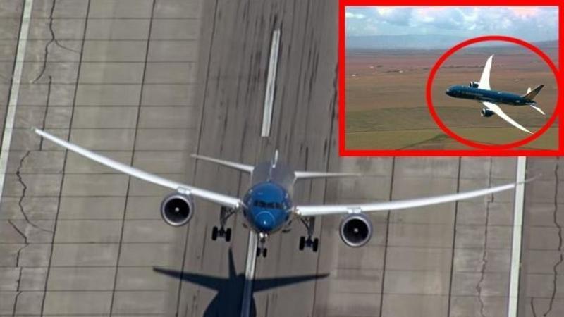 Acrobaţie pe cer cu 227 de TONE de oţel: Boeing 787 un MASTODONT care te va IMPRESIONA cu agilitatea şi performanţa lui in AER!!