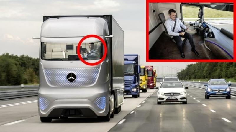 Noul TIR al viitorului este aici: Uite cât de uşor va fi pentru toţi şoferi să îl conducă... cabina lui este mai relaxantă şi mai primitoare ca o SUFRAGERIE! Iţi vine să crezi?