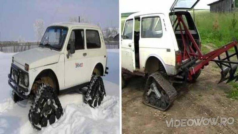 A cumpărat o banală şi ieftină MASINA rusească Lada şi a transformat-o în ceva extraordinar pentru orice fermier! Când am văzut cât de eficientă este această maşină pe câmp... mi-a stat mintea în loc!