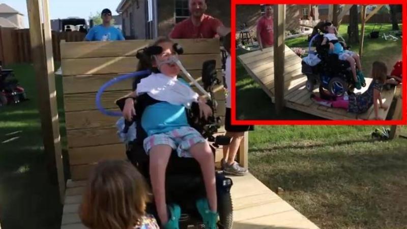 Fiica lui este PARALIZATA într-un scaun cu rotile, dar ce surpriză îi face tatăl acestei fetite chiar de ziua ei îţi va atinge inima! Un tată de milioane, un adevărat EROU al copiilor lui... Impresionant!
