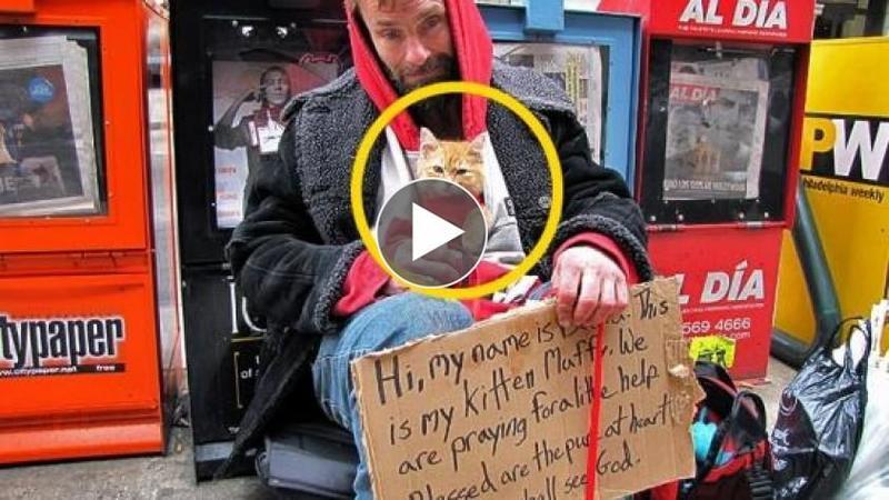 Impart TOTUL, chiar şi FARFURIA din care MANANCA şi înainte de a JUDECA un om al străzii vezi acest VIDEO!!