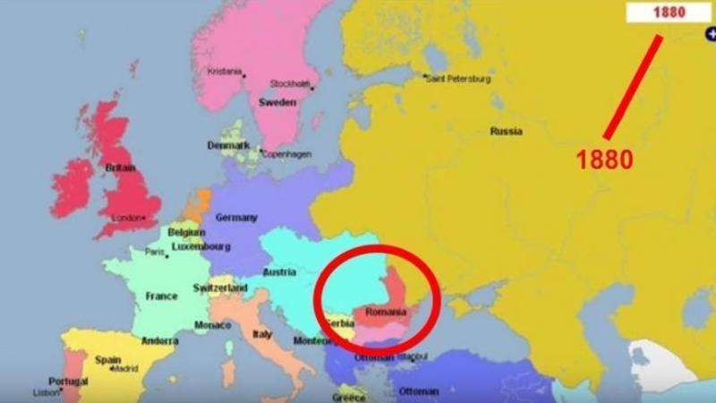 5000 de ani de Europa: Iată prin câte transformări a trecut ţara noastră România ca să ajungă cum este acum! Un video incredibil