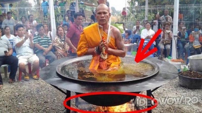 Călugarul Shaolin care s-a FIERT timp de 3 zile şi 3 nopţi în ulei încins! Omul care a şocat ştiinţa şi lumea medicală! Toţi au rămas fără cuvinte şi nu şi-au explicat fenomenul