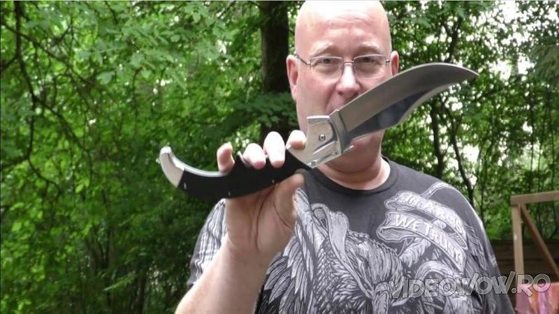 Este cel mai BRUTAL cuţit din lume şi chiar şi o singură tăietură cu această armă albă poate fi fatală! Pur şi simplu... WOW