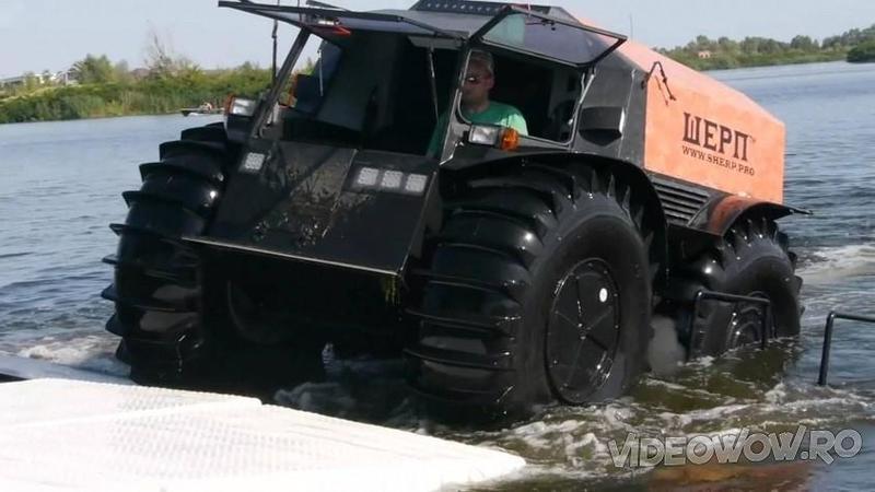 Noul ATV fabricat de Ruşi cu care poţi să mergi până şi pe apă! Este o mică BESTIE capabilă de lucruri ieşite din comun! Iată ce distracţie poţi să ai cu o asemenea maşinărie fără limite