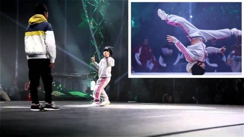 Urcă pentru prima dată pe scenă pentru a DANSA în faţa a mii de oameni: Când partenerul ei o provoacă la un DUEL... iată ce iese din acestă fetiţă de doar 6 anişori... WOW