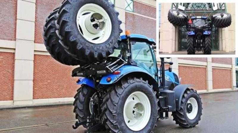 Cu siguranţă ai văzut multe TRACTOARE la viaţa ta, dar facem pariu că un tractor ca ăsta nu ai mai văzut vreodată pe câmp? Ce sistem pentru mai multă putere şi aderenţă are... te va lăsa cu gura căscată!