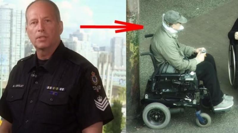 Un ofiţer de poliţie se deghizează într-un cerşetor în scaun cu rotile pentru a prinde infractorii care profită de aceşti oameni lipsiţi de apărare! Dar ce surprind camerele care îl supravegheză este mai mult decât emoţionant... m-a lăsat cu lacrimi in ochi!