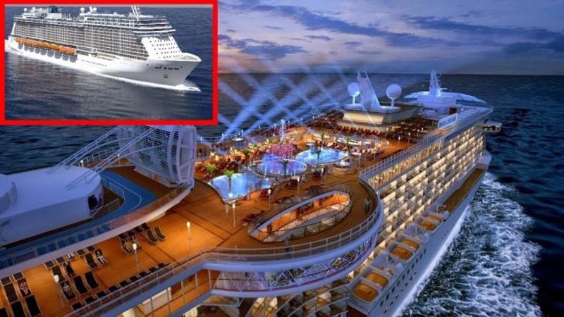 Mulţi dintre cei care călătoresc cu această NAVA de CROAZIERA nu mai vor să se dea jos! Si au dreptate, este cea mai LUXOASA şi EXTRAVAGANTA navă de croazieră construită vreodata!