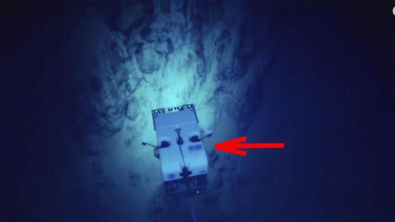 Au coborât un submersibil în abisul OCEANULUI cu o cameră de luat vederi: Ce a surprins pe fundul lui este ceva ce nu a mai fost văzut vreodată de ochiul omului... Extraordinar!