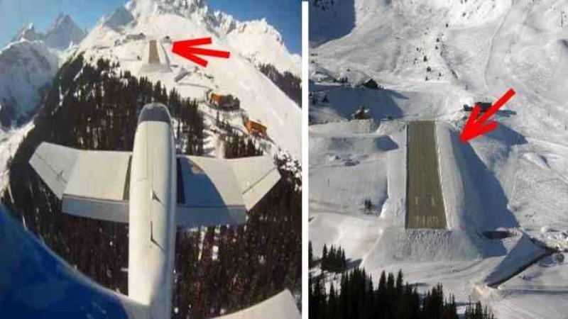 Este cea mai îngustă şi periculoasă PISTA de avioane situată la peste 1750 metri altitudine, iar ca să aterizezi aici îţi trebuie întradevăr curaj şi îndemânare multă! Vrei să vezi cum arată o aterizare şi decolare pe un asemenea aeroport mic? WOW