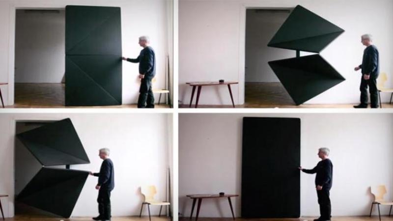 Este doar o uşă... dar nu una oarecare: Aşteaptă să vezi şi să nu crezi cum arată uşa viitorului... WOW te va lăsa PERPLEX