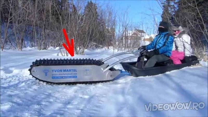 Sa fie oare aceasta cea mai eficienta masinarie pentru mersul pe zapada? Cand am vazut cat de usor se conduce si cat de fantastica este... m-a convins negresit!