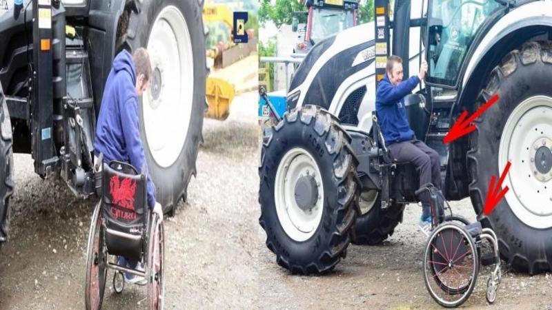 Si-a modificat TRACTORUL în cel mai uimitor mod posibil, iar când ai să vezi ce a făcut acest tânăr din maşinăria lui cu care lucrează pământul... merită tot respectul nostru!
